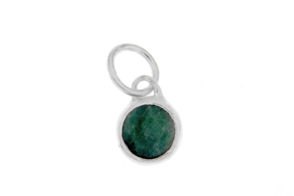May Birthstone Bezel Charm