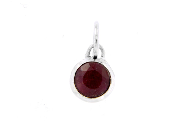 July Birthstone Bezel Charm
