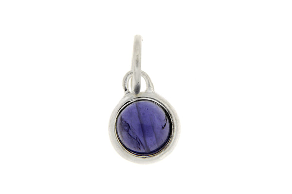 September Birthstone Bezel Charm