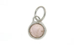 October Birthstone Bezel Charm