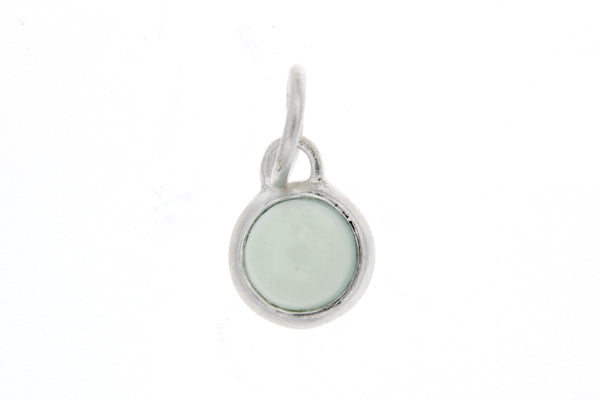 December Birthstone Bezel Charm