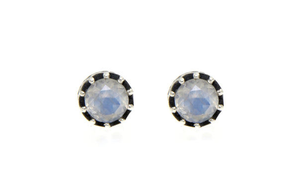 Filigree Round Stud Earrings