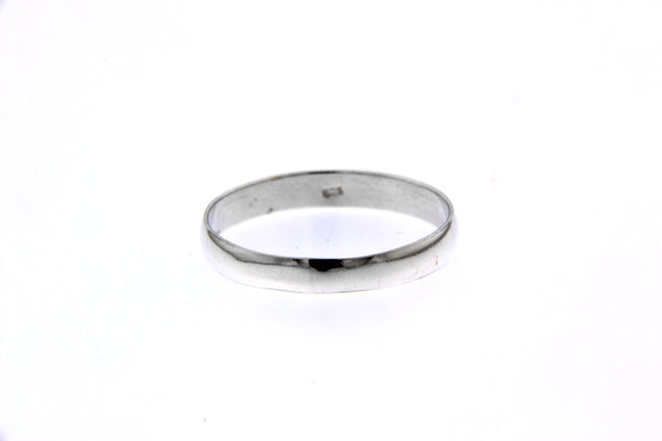Sterling Silver 3mm Band