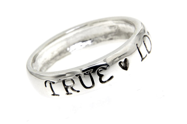 True Love Waits Silver Ring