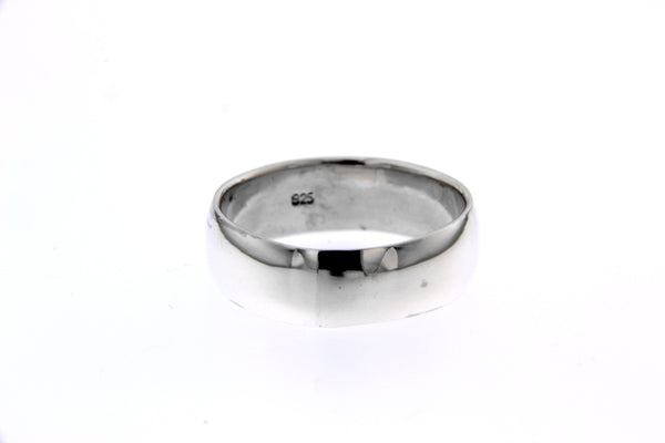 Sterling Silver 6mm Band