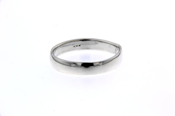 Sterling Silver 4mm Band