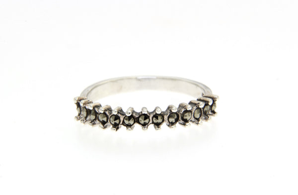 Stackable Marcasite Band