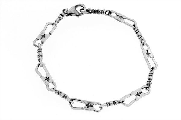 Sterling Silver ACTS Bracelet/7 in.