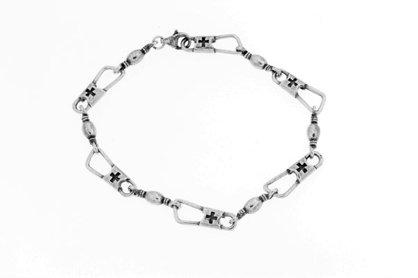 Sterling Silver ACTS Bracelet/7.5""