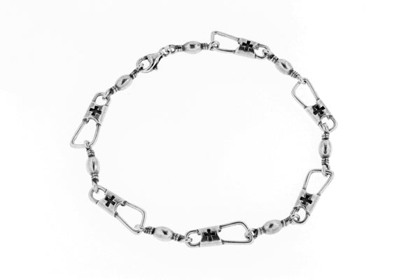 Sterling Silver ACTS Bracelet/8""