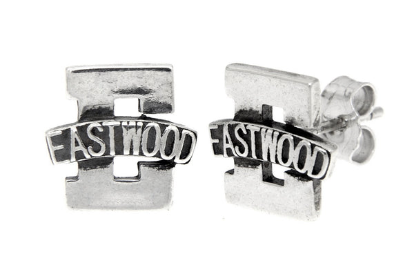 Sterling Silver Eastwood Stud Earrings