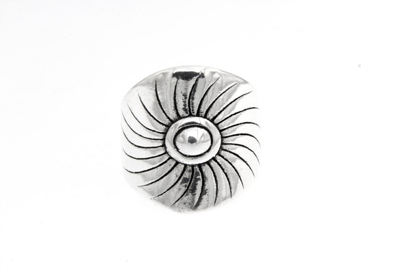Sterling Silver Electroform Burst Ring