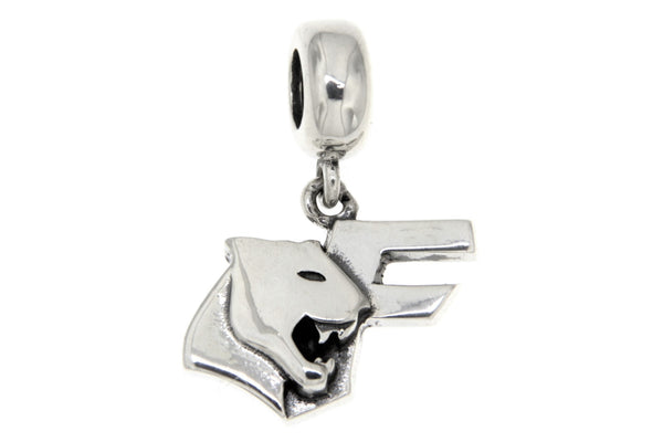 Sterling Silver Franklin High School Slide Charm