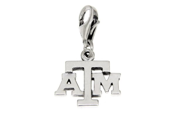 Sterling Silver Texas A&M University Clip Charm