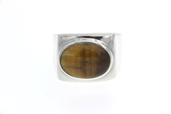 Tiger's Eye Ring 13mm