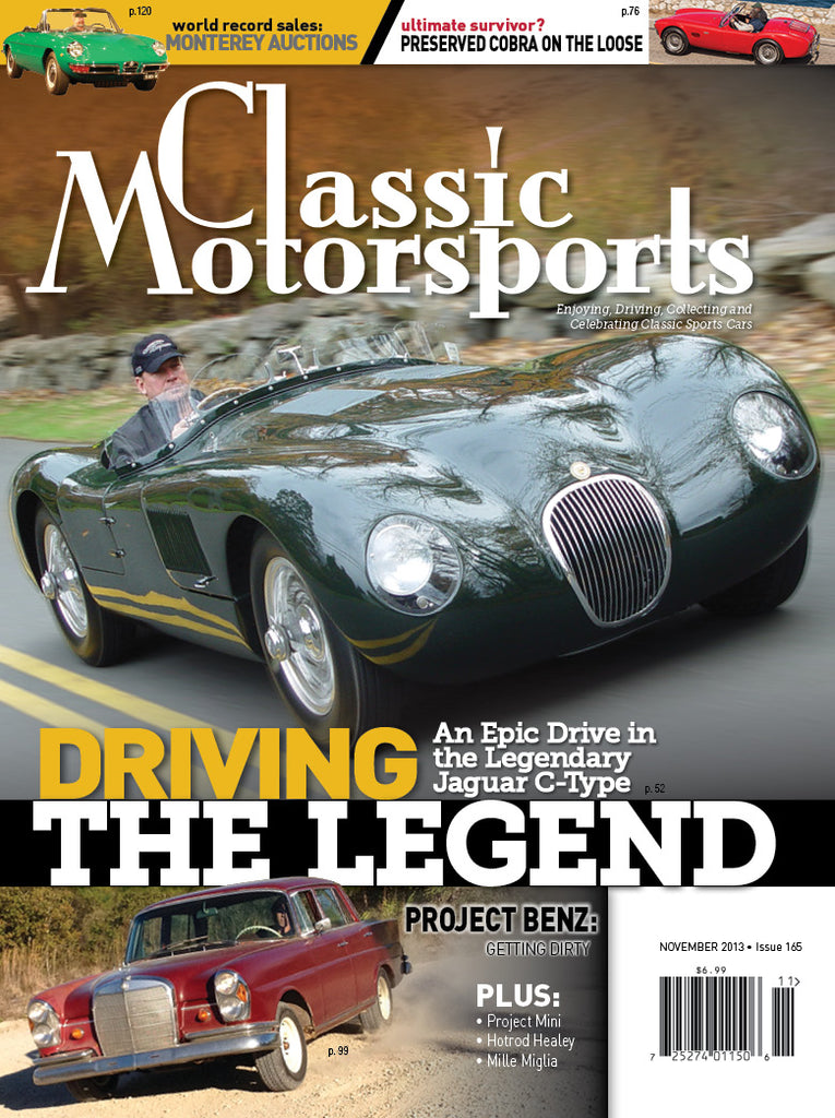 November 2013 - Driving The Legend
