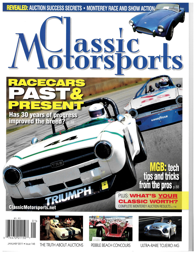 January 2011 - Race Cars Past and Present