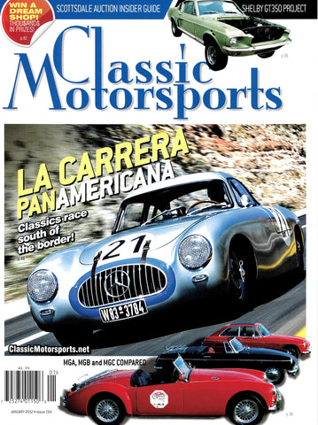 January 2012 - La Carrera Panamericana