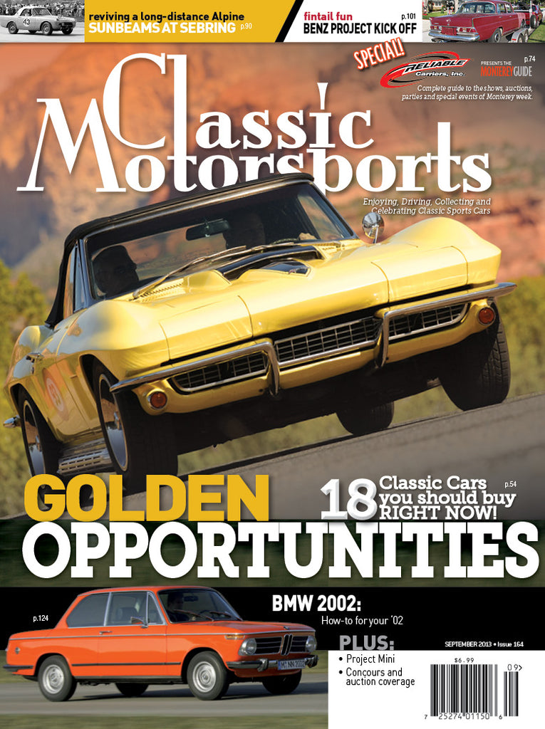 September 2013 - Golden Opportunities