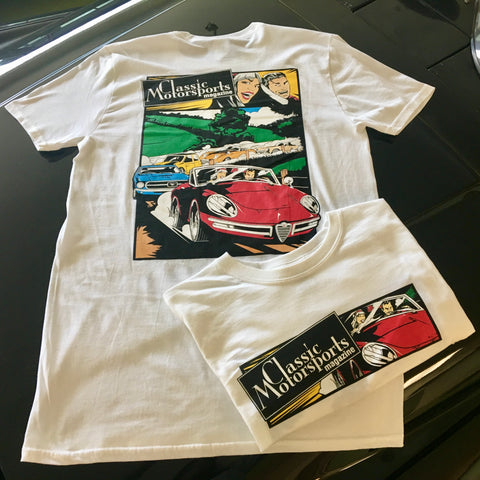 Double-Sided White Alfa T-Shirt