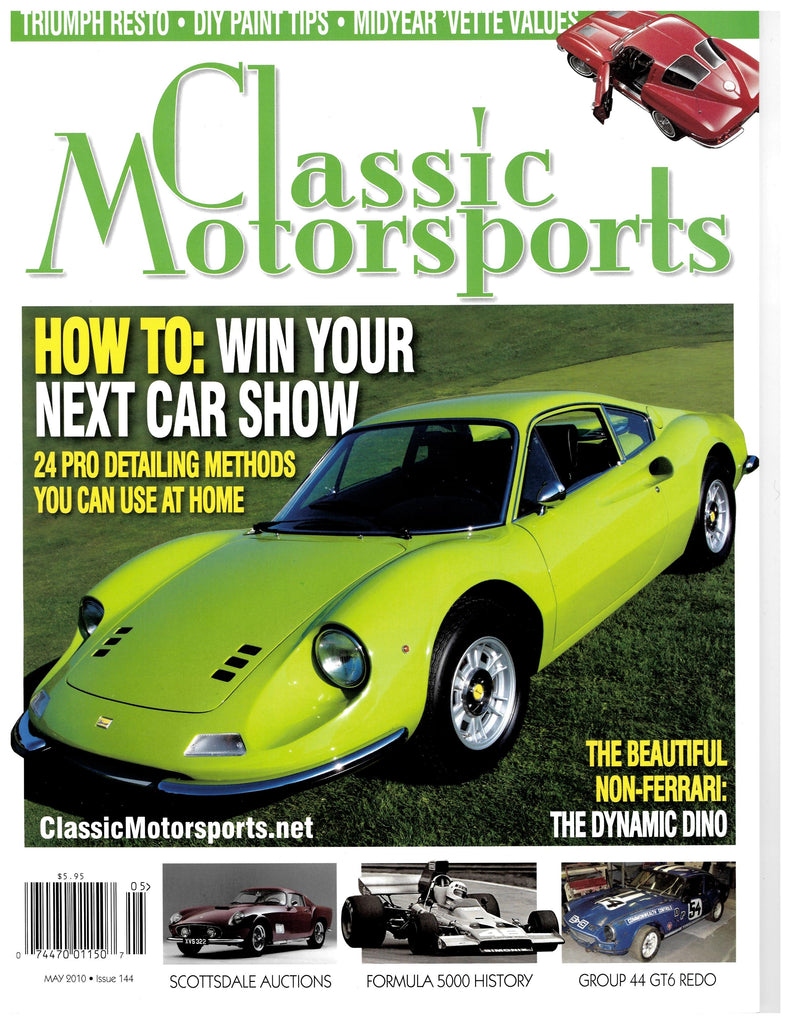 May 2010 - How To: Win Your Next Car Show