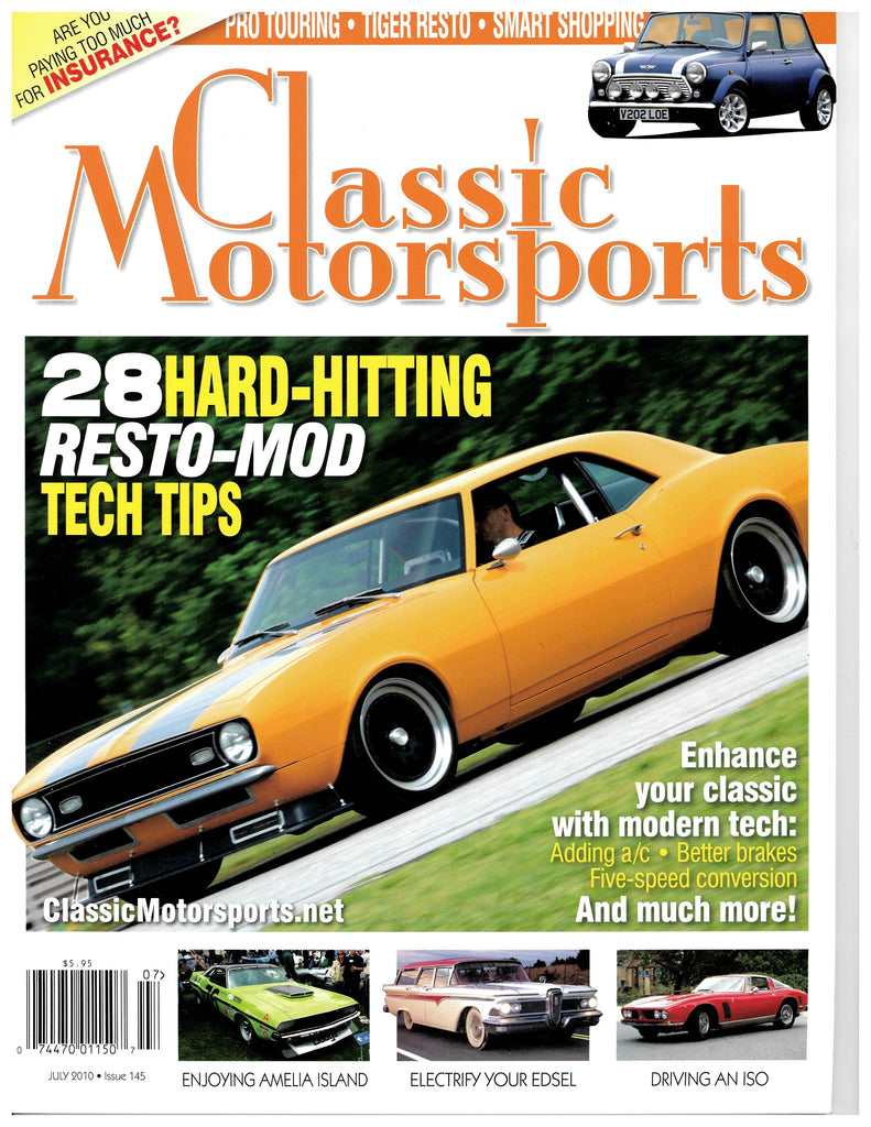 July 2010 - 28 Hard-Hitting Resto-Mod Tech Tips