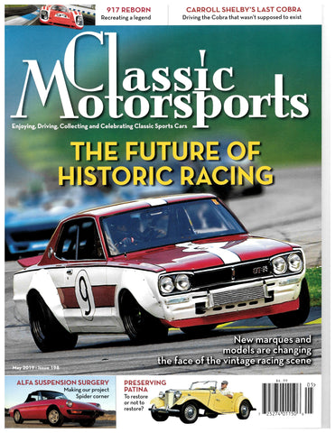 May 2019 - The Future of Classic Racing