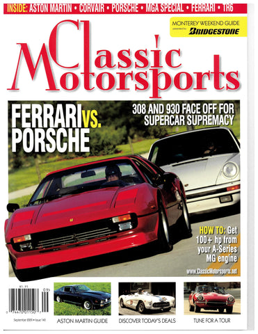 September 2009 - Ferrari vs. Porsche