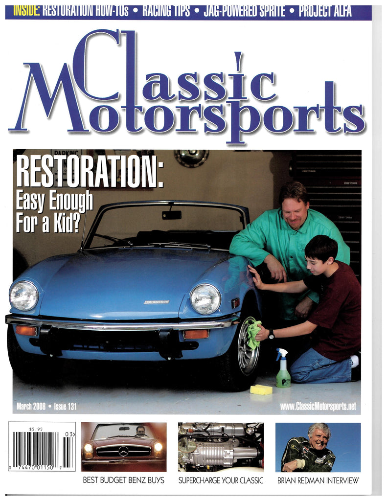 March 2008 - Restoration: Easy Enough For a Kid?