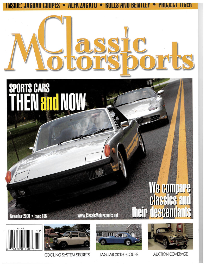November 2008 - Sports Cars Then and Now
