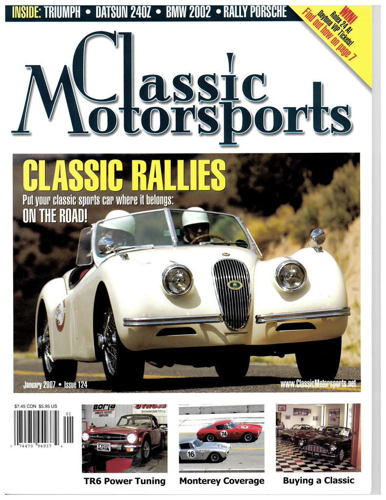 January 2007 - Classic Rallies