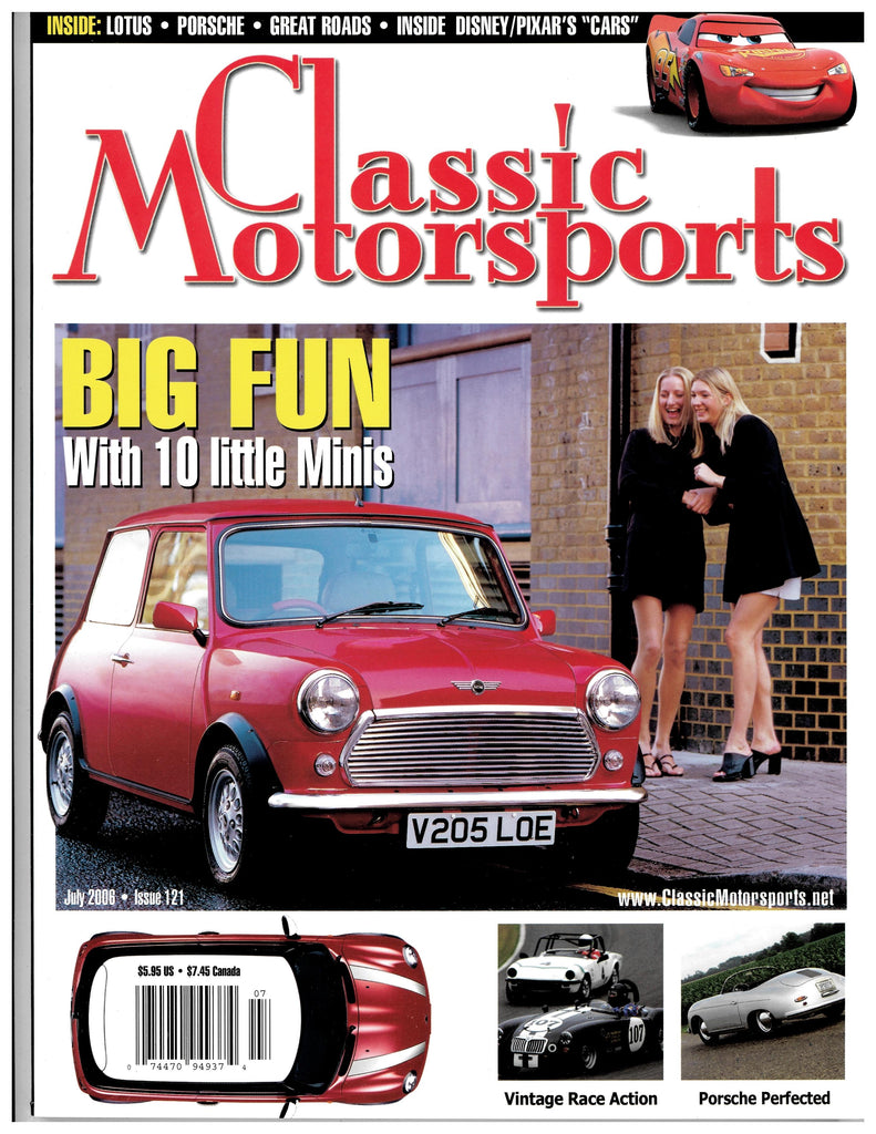 July 2006 - Big Fun With 10 Little Minis