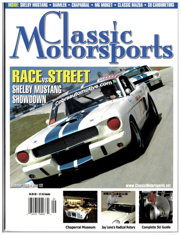 September 2006 - Race vs. Street: Shelby Showdown