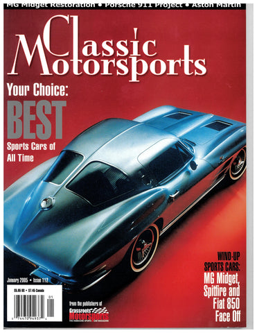 January 2005 - Your Choice: Best Sports Cars of All Time