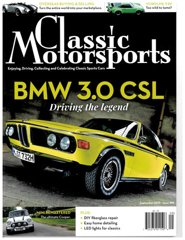 September 2020 - BMW 3.0 CSL - Driving the Legend