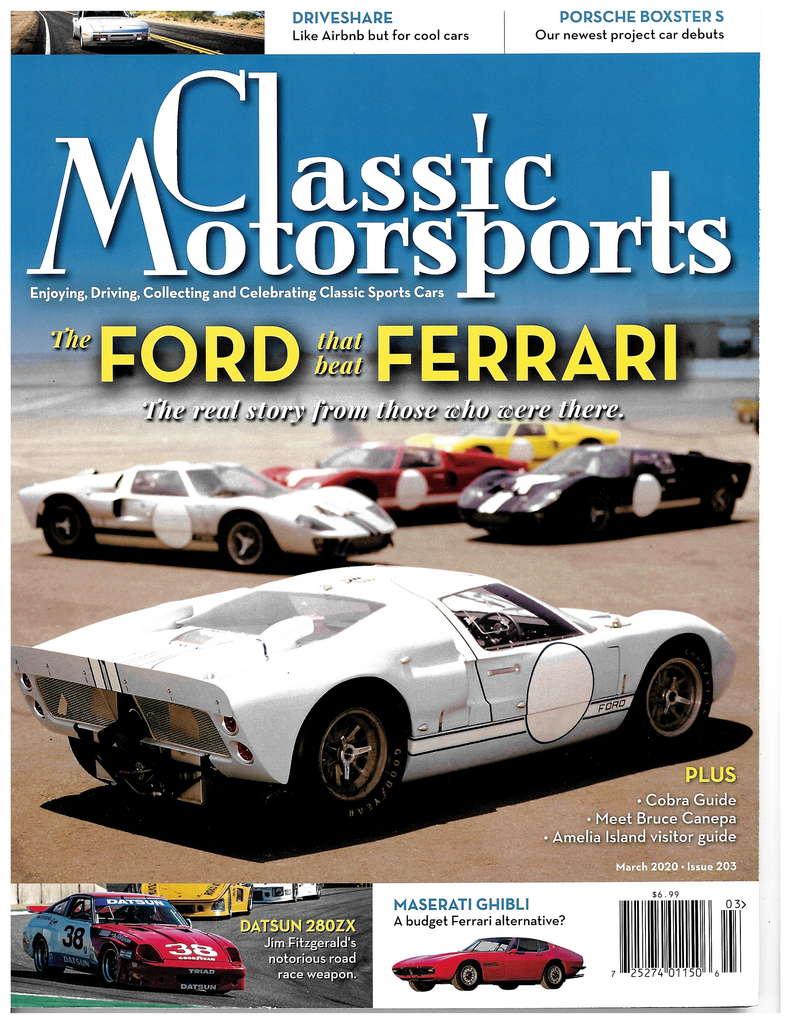March 2020 - The Ford that Beat Ferrari