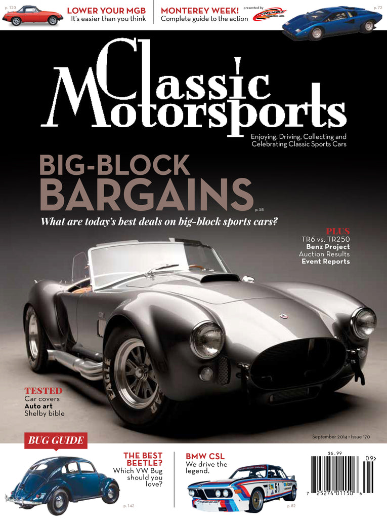 September 2014 - Big-Block Bargains