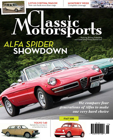 November 2015- Alfa Spider Showdown