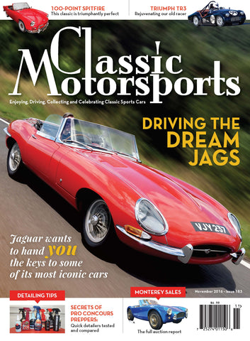November 2016- Driving the Dream Jags