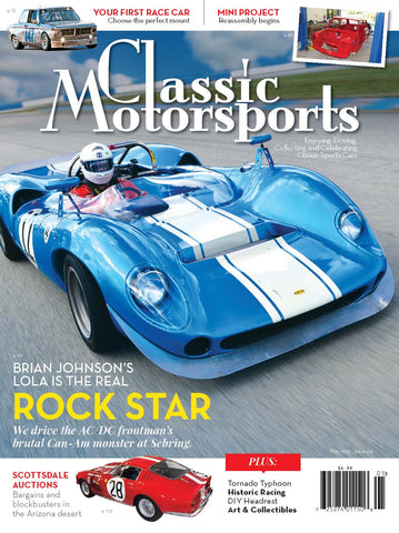 May 2015- Brian Johnson's Lola is the Real Rock Star