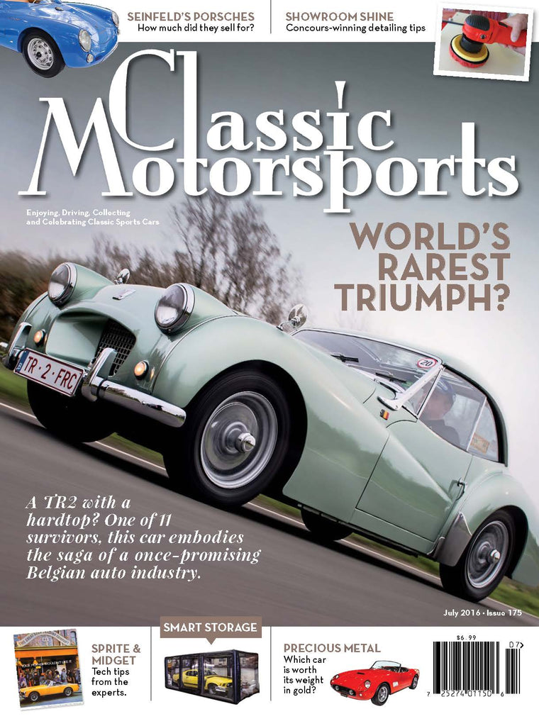 July 2016- World's Rarest Triumph?
