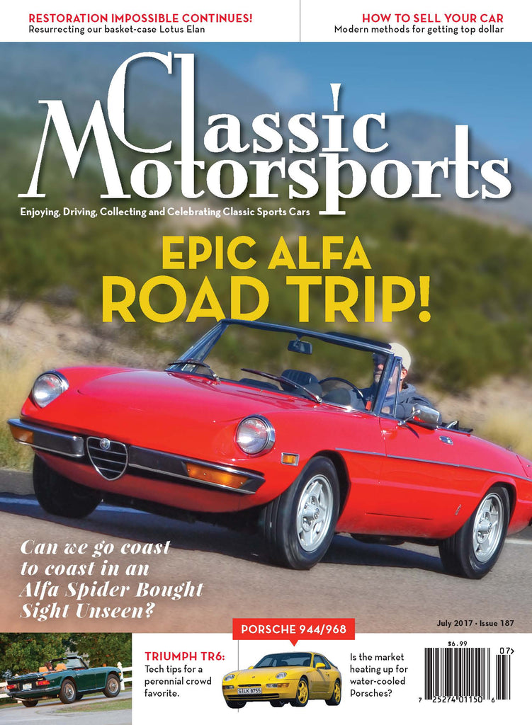 July 2017- Epic Alfa Road Trip!