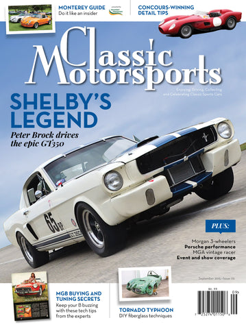 September 2015- Shelby's Legend