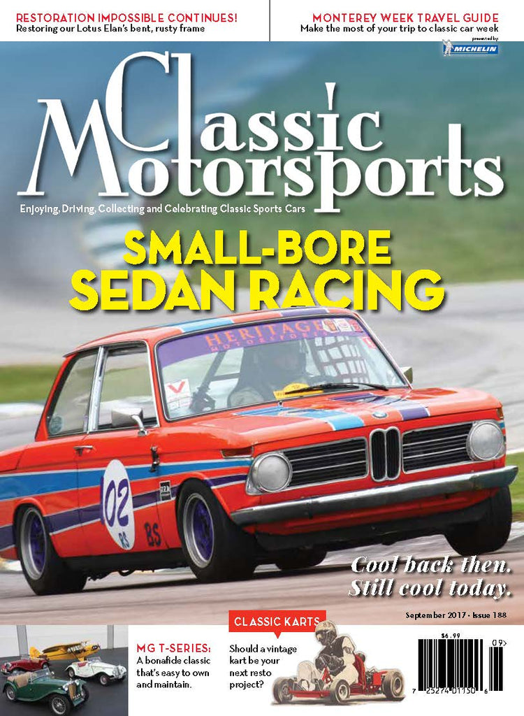 September 2017- Small-Bore Sedan Racing