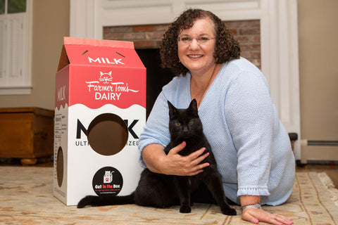 Dawn LaFontaine, founder of Cat in the Box