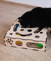 Puzzle toy for cat