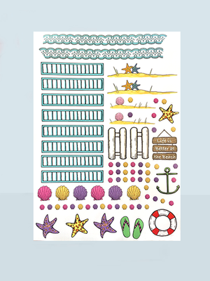 Add-On Stickers for Breezy Beach Cottage