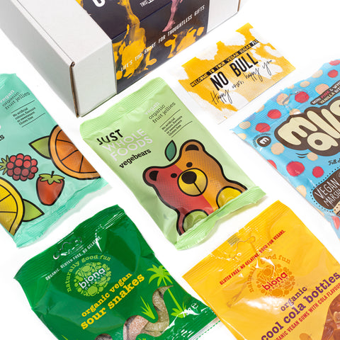 'Don't Have a Cow' Vegan Sweets Gift Box