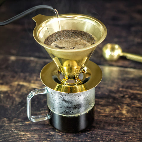 'Coffee Geek' Pour Over Coffee Maker