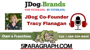 Tracy Flanagan, Co-Founder of JDog Brands